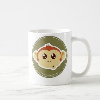 Monkey head mug