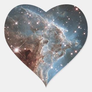 Monkey Head Nebula NGC 2174 Heart Sticker