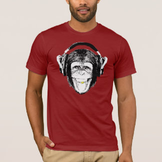 Monkey Headphones T-Shirt