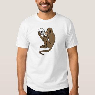 Monkey Holding A Skull T-Shirt