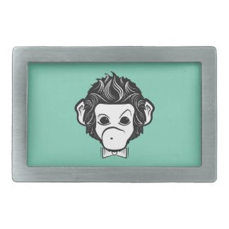 monkey identica rectangular belt buckle