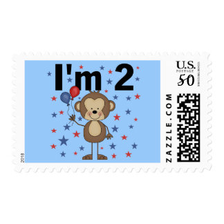 Monkey I'm 2 Tshirts and Gifts Postage