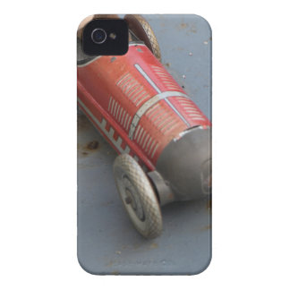 Monkey in a toy car iPhone 4 case