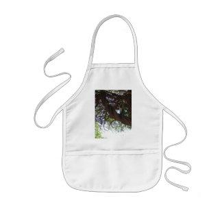 Monkey in a tree kids' apron