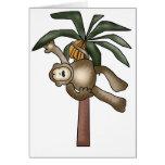 Monkey in Banana Tree Card