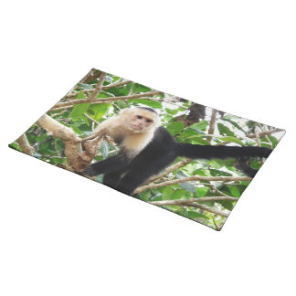 Monkey in Costa Rica Cloth Placemat