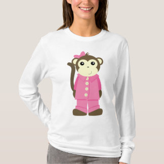 Monkey in Pajamas T-Shirt