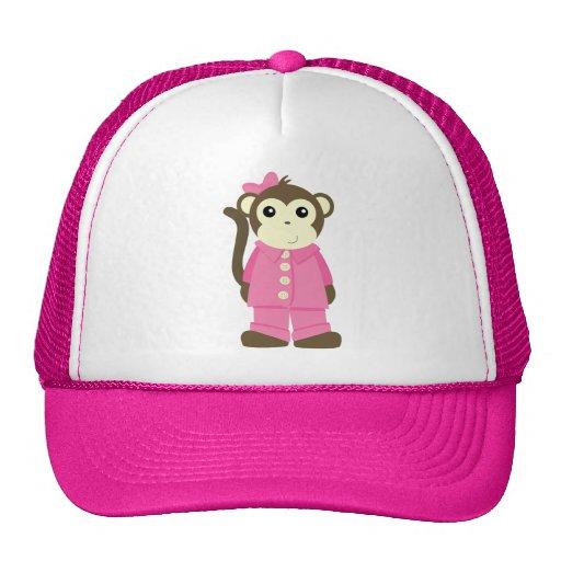 Monkey in Pajamas Trucker Hat