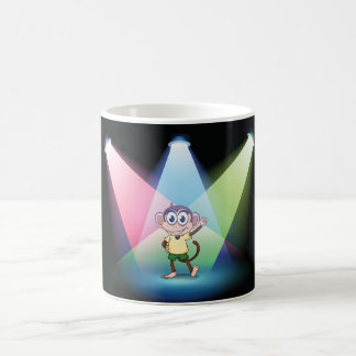 Monkey In Spotlights Mug