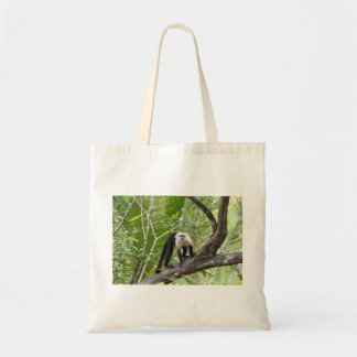 Monkey in the Jungle Budget Tote Bag