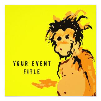 monkey ink invitation