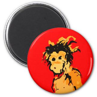 monkey ink magnet