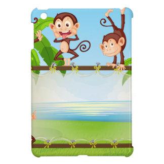 Monkey iPad Mini Covers