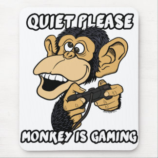 Monkey Is Gaming Mouse Pad
