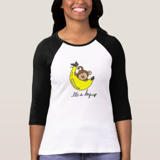 Monkey It's a Boy Tshirts and Gifts