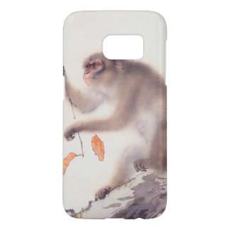 Monkey Japanese Painting Chinese Zodiac Samsung C Samsung Galaxy S7 Case