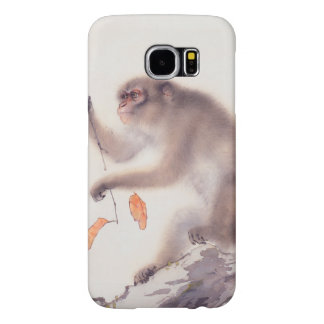 Monkey Japanese Painting - Year of the Monkey Samsung Galaxy S6 Cases