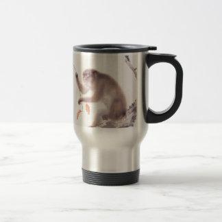 Monkey Japanese Painting - Year of the Monkey Travel Mug