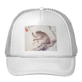 Monkey Japanese Painting - Year of the Monkey Trucker Hat