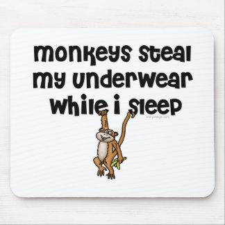 Monkey Joke Mouse Pad