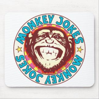 Monkey Jokes Mouse Pad
