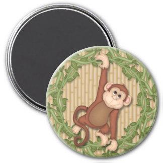 Monkey Jungle Magnets Locker Magnet File Cabinet