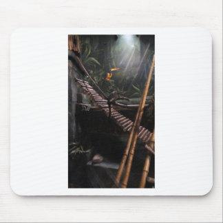 monkey jungle mouse pad