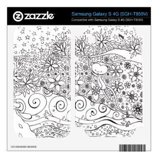 Monkey jungle samsung galaxy skin samsung galaxy s 4G skins