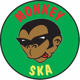 Monkey Key Chain Photo Sculpture Keychain