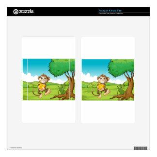 Monkey Kindle Fire Skins