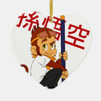 Monkey King Ceramic Ornament
