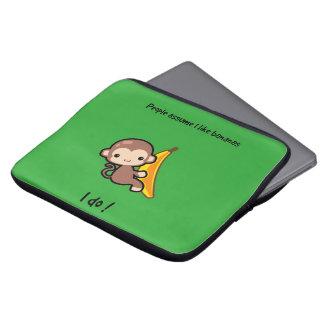 Monkey Laptop Computer Sleeves