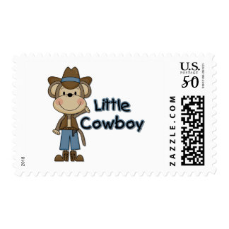Monkey Little Cowboy Tshirts and Gifts Postage