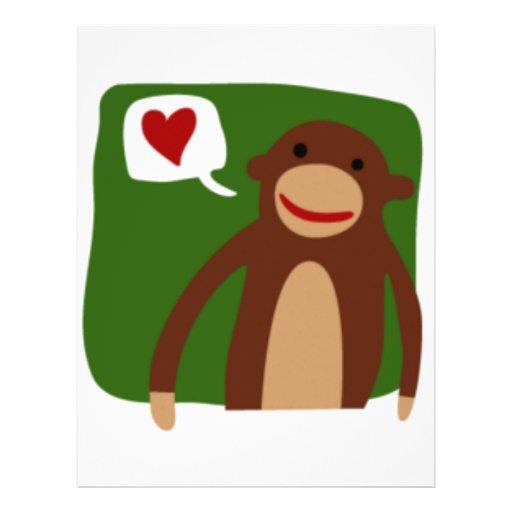 monkey love flyer