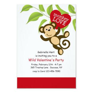 Monkey Love Invitation
