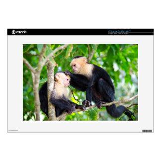 Monkey Love Laptop Decal
