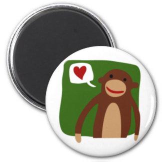 monkey love magnet