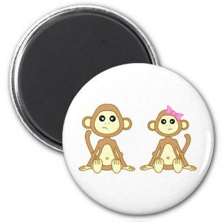 Monkey Love Magnets