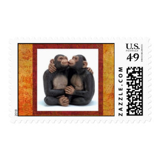 monkey-love postage