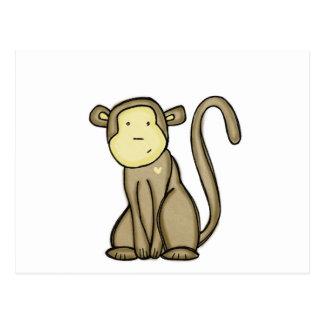 monkey love post cards
