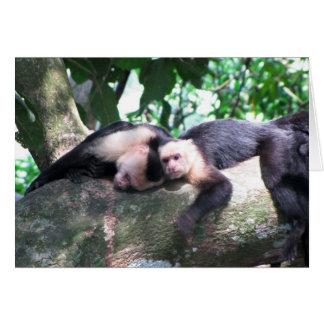 Monkey Love Stationery Note Card