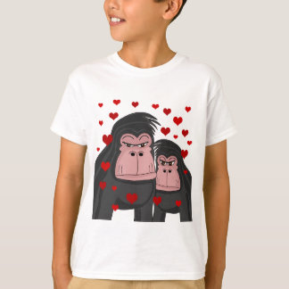 Monkey love T-Shirt
