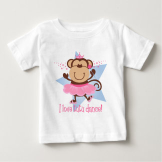 Monkey Love Tutu Dance Baby T-Shirt