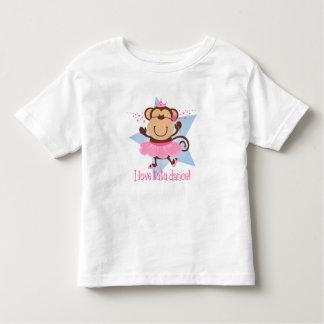 Monkey Love Tutu Dance Toddler T-shirt