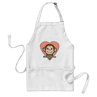 Monkey Lover Adult Apron
