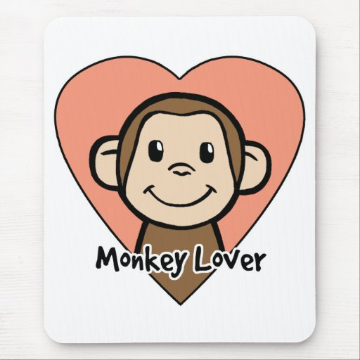 Monkey Lover Mouse Pad