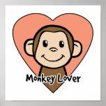 Monkey Lover Poster