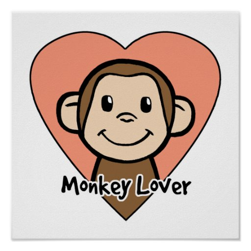 Monkey Lover Posters