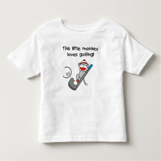 Monkey Loves Golfing T-shirts and Gifts