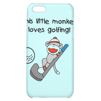 Monkey Loves Golfing T-shirts and Gifts iPhone 5C Covers